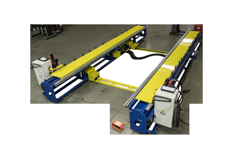 Wide Plate Framing Station