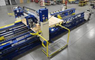 Single Tool Sheathing Bridge and Operator Platform