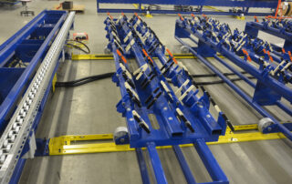 Color-Coded Joists Locators and Pop-Up Rollers