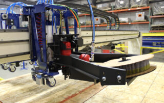Sheathing Bridge Tool Carriage