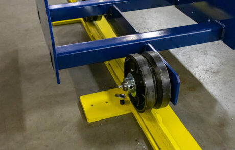Power Conveyor Telescoping Floor Track