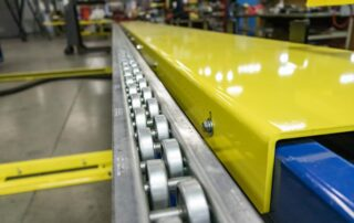 Pop-up Roller Conveyor and Projection Plate
