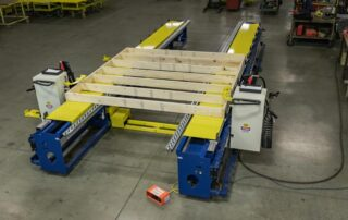 Wide Plate Framing Station with Indexing Tool Carriages