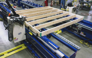 Framing Table with Indexing Tool Carriages