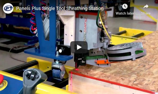 Single Beam Sheathing Station