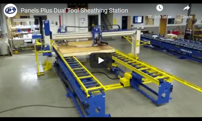 Dual Beam Sheathing Station