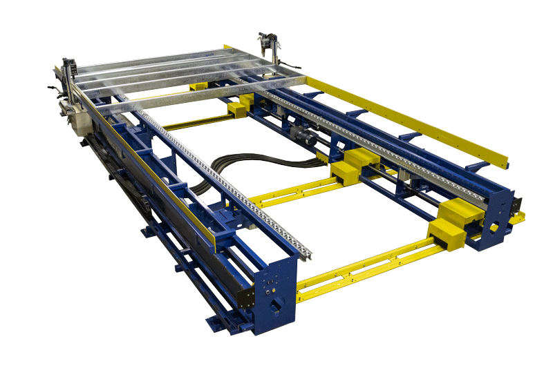 Light Gauge Steel Framing Station with Screw Tool Carriages